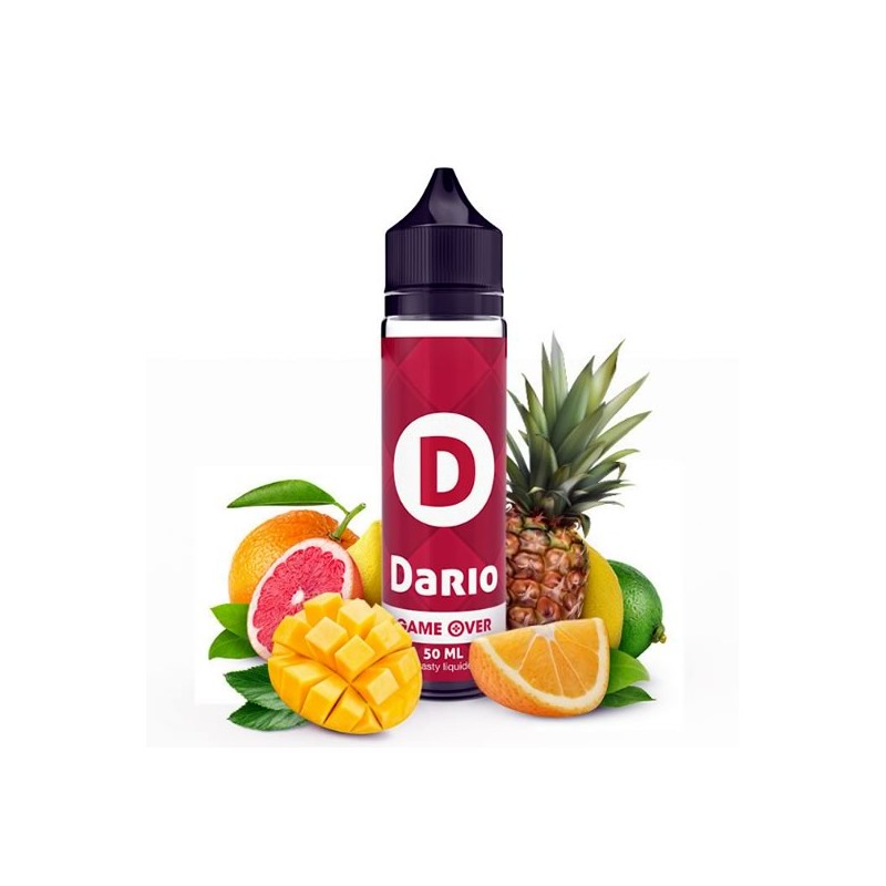 Eliquide Dario - série Game over par Etasty - 50ml