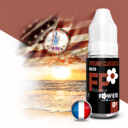 Eliquide Virginie Classic par Flavor Power - 10ml