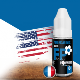 Eliquide American Mix par Flavor Power - 10 ml
