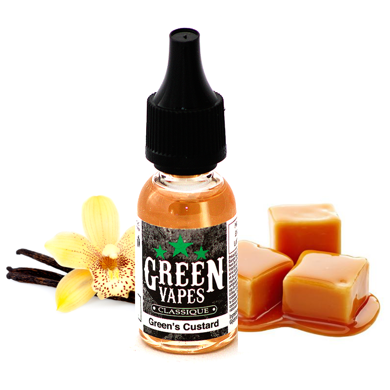 Eliquide Green Custard par Green Vapes - 10ml
