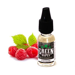 Eliquide Framboise par Green Vapes - 10ml