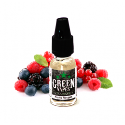 Eliquide Fruits Rouges par Green Vapes - 10ml