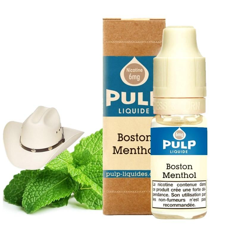 Eliquide Boston Menthol par Pulp - 10ml