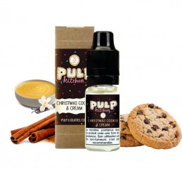 Eliquide Christmas Cookie Cream par Pulp - 10ml