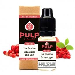 Eliquide Fraise Sauvage Nic Salt par Pulp - 10ml