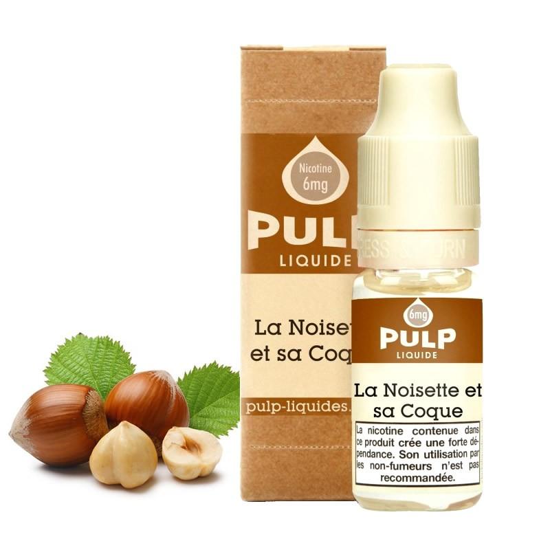 Eliquide Noisette Et Sa Coque par Pulp - 10ml