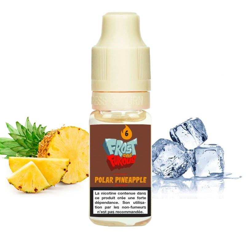 Eliquide Polar Pineapple par Pulp - 10ml