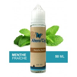 Eliquide Menthe Fraîche par Alteracig - 50ml