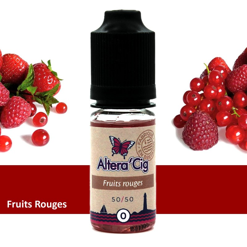 Eliquide Fruits Rouges par Alteracig 10ml