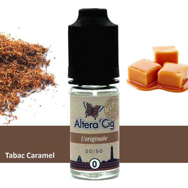 Eliquide L'Original par Alteracig - Tabac gourmand 10ml