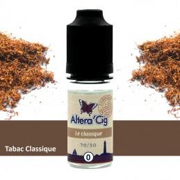 Eliquide Le Classique par Alteracig - Tabac blond 10ml